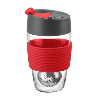 【PO:Selected】丹麥磁吸濾球魔力杯10oz (紅)