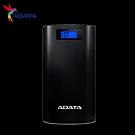 ADATA威剛 S20000D  20000mAh  薄型行動電源(時尚黑)
