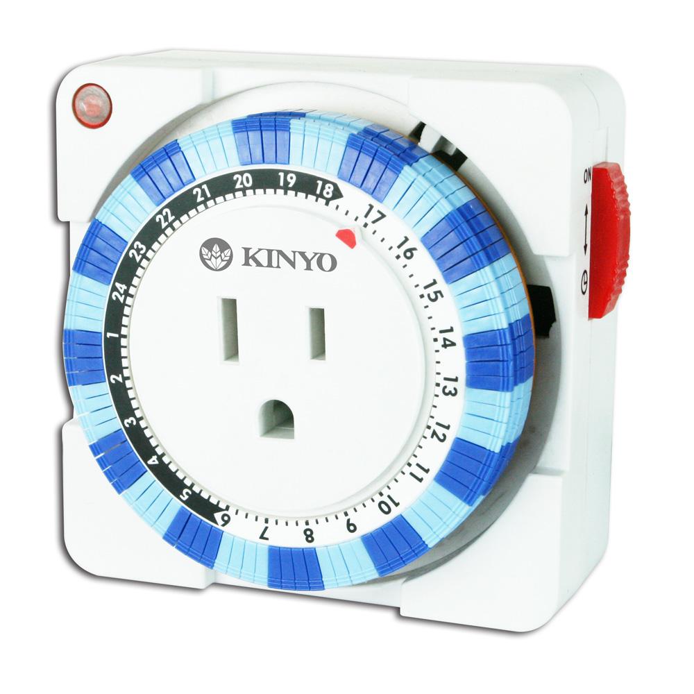 KINYO 24小時指撥式多段定時器