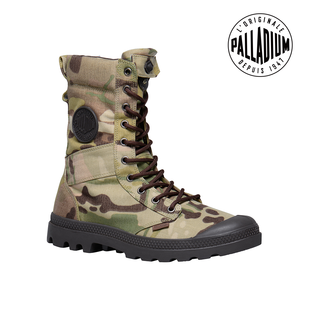 Palladium TACTICAL MULTICAM-男-軍裝迷彩