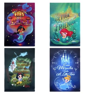 Disney迪士尼公主Q版系列L資料夾