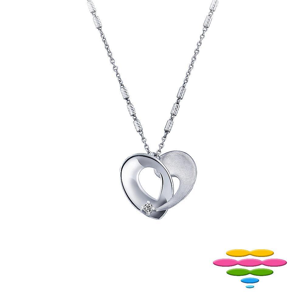 彩糖鑽工坊 愛心鑽石項鍊 永結同心系列 product image 1