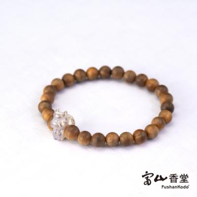 【富山香堂】牛轉乾坤台灣檀木珠手鍊