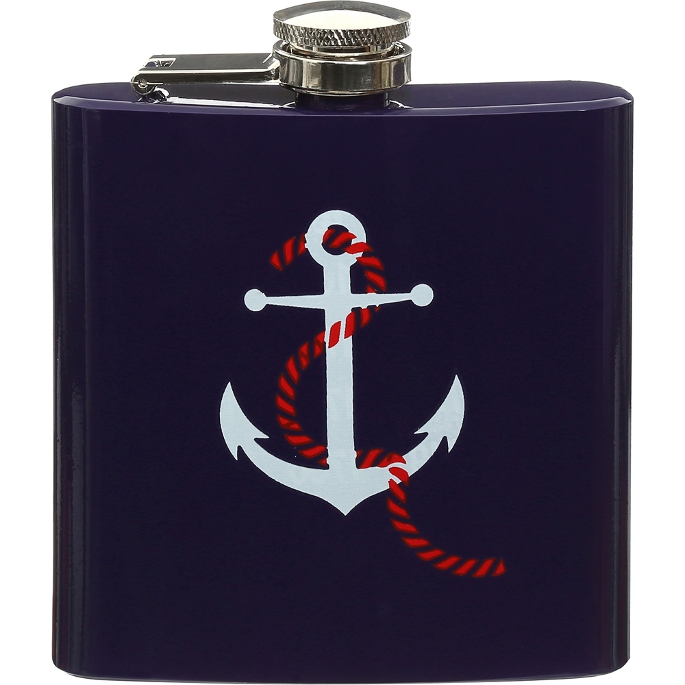 《Premier》隨行酒壺(船錨175ml)