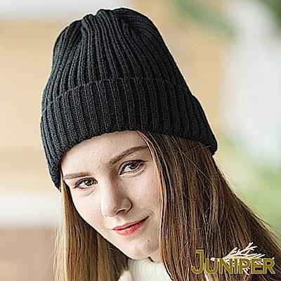 JUNIPER 女款簡約純色針織毛線冬帽