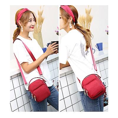 AT2703RD韓版迷你時尚手提包側背包紅色