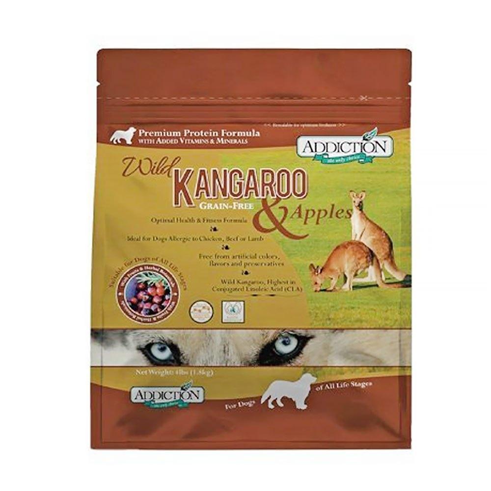 Addiction自然癮食《無穀野生袋鼠寵食》犬糧- 1.8kg/包