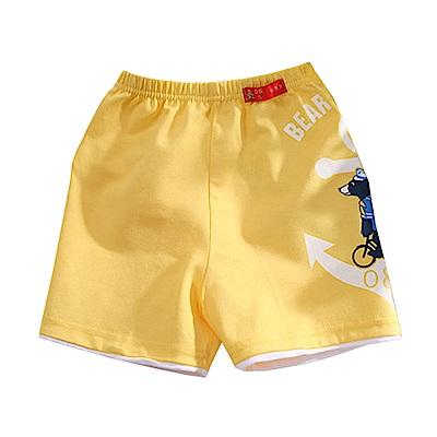 男童印花休閒短褲 k50712 魔法Baby