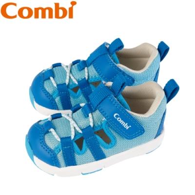 日本Combi童鞋 太空漫步幼兒機能涼鞋-慧星藍
