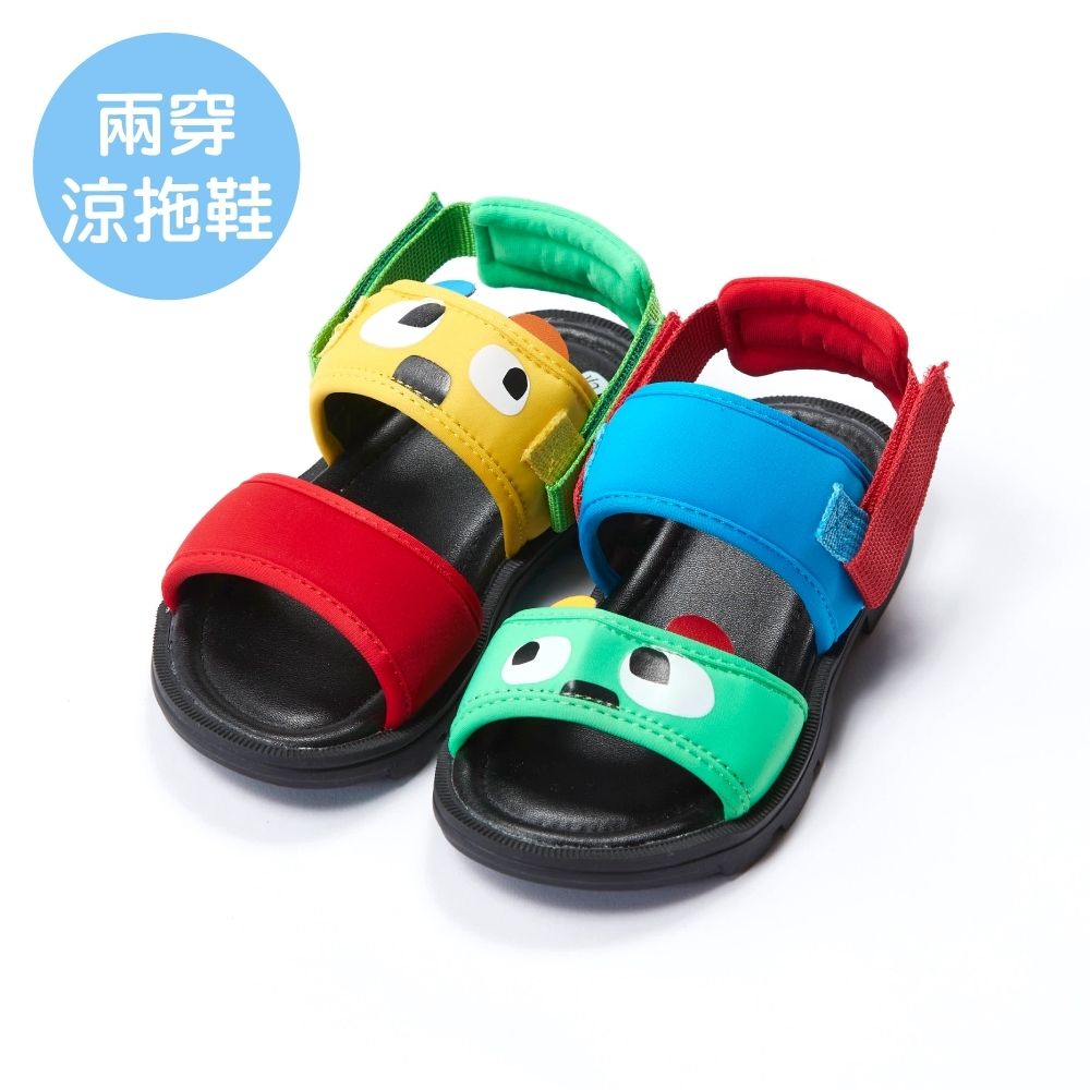 WHY AND 1/2 普普熊兩穿涼拖鞋 多色可選 product image 1