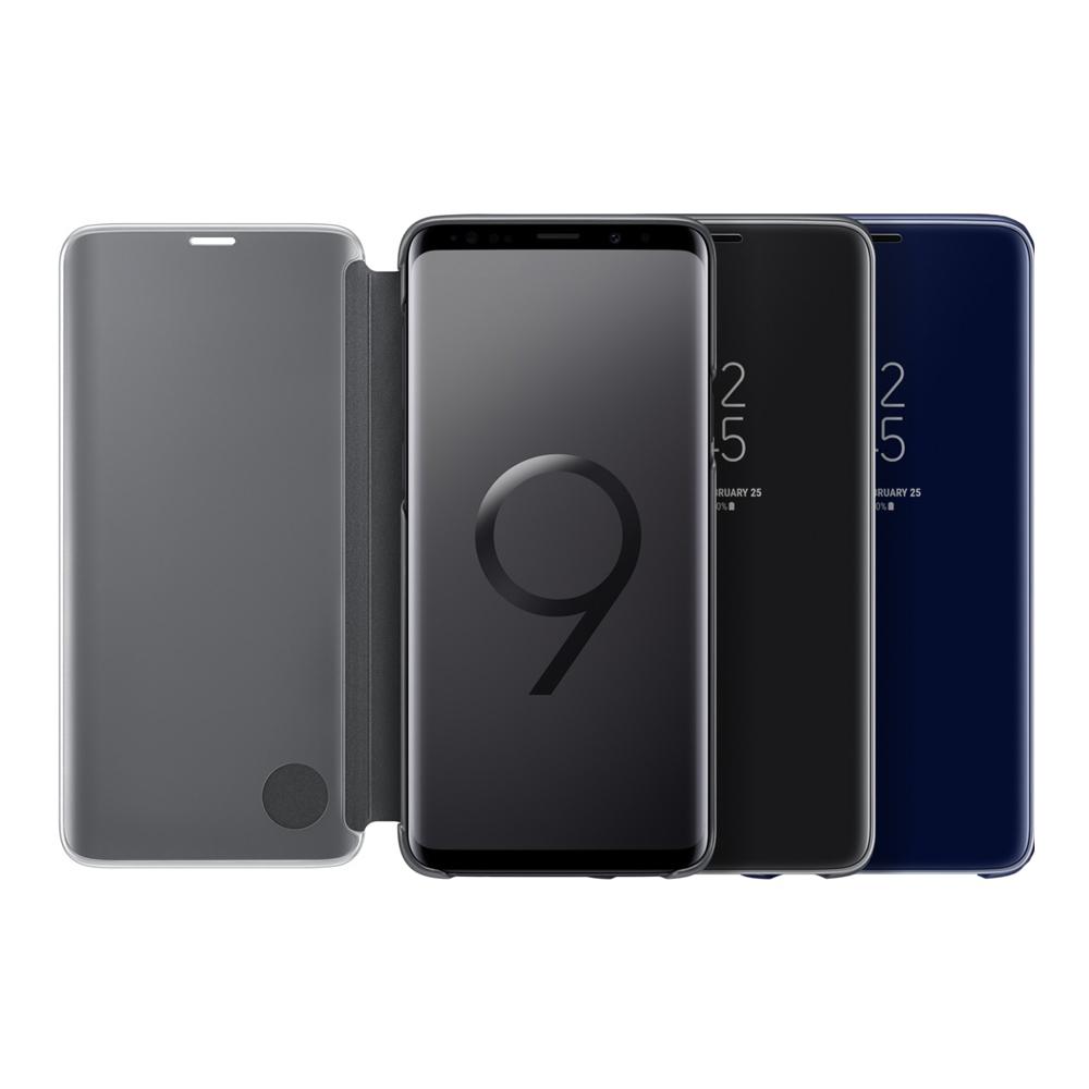 Samsung Galaxy S9+ 原廠全透視感應皮套(立架式 6.2吋用)