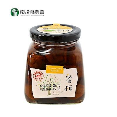 南投縣農會 蜜梅515g/罐