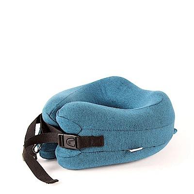 韓版 專利設計 可捲收納記憶棉U型枕(2入)