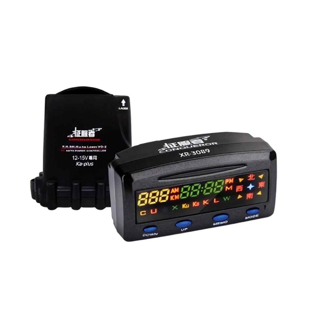 征服者 XR-3089 分離式雷達 測速器-快