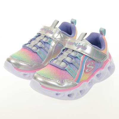 SKECHERS 女嬰童系列 燈鞋 HEART LIGHTS - 302308NSMLT