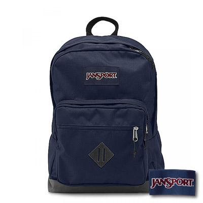 JanSport - CITY SCOUT 系列後背包 -深藍