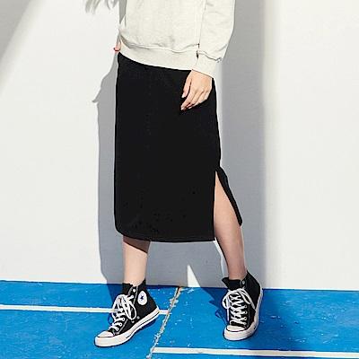CACO-插袋側開岔長裙-女【RAR013】