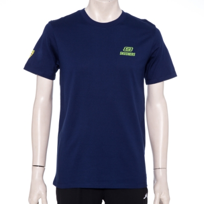 SKECHERS 男短袖衣 - L220M055-007D