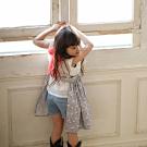 MARLMARL 兒童用餐圍裙 女孩/Flamingo(KIDS 100-110cm)
