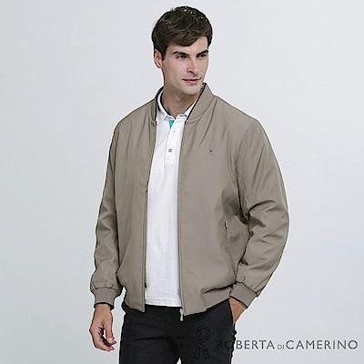 ROBERTA諾貝達 復古經典 內裡舖棉夾克外套 棕褐