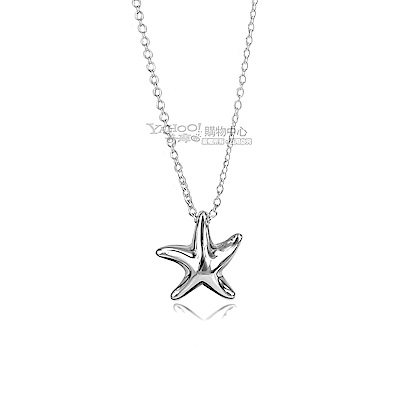 TIFFANY&Co. 小海星925純銀項鍊