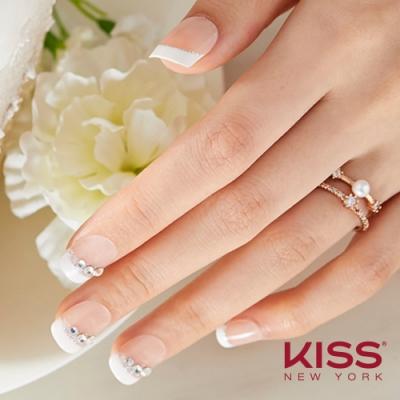 KISS New York-Press&Go頂級光療指甲貼片-情挑辛柏琳(KPNS01K)