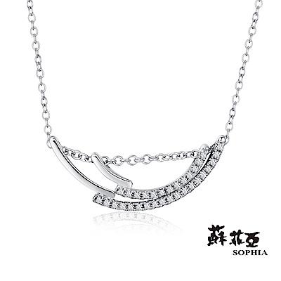 蘇菲亞SOPHIA 鑽石套鍊 - 辛西雅14K鑽石套鍊/項鍊