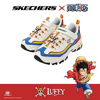 SKECHERS 男童 航海王ONE PIECE聯名款 - 魯夫 D LITES - 406102LWMLT