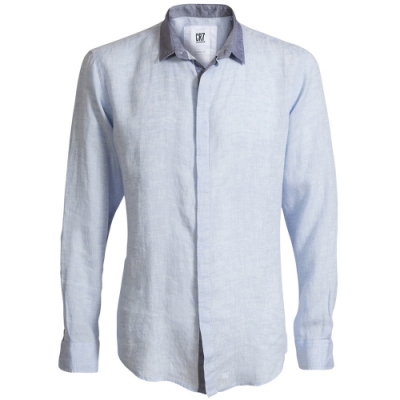 CR7-Classic Fit  經典領雙灰色襯衫 (8625-73-30)