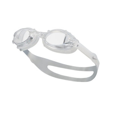 NIKE Chrome 訓練型兒童泳鏡 純白金 NESSA188-053