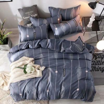 3-HO 雪紡棉 單人床包/枕套 二件組 夜羽森林