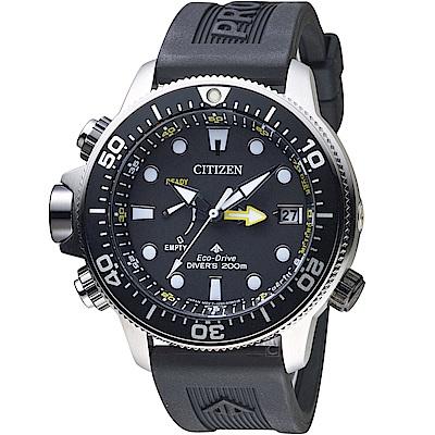 CITIZEN星辰PROMASTER極限深海光動能潛水錶(BN2036-14E)