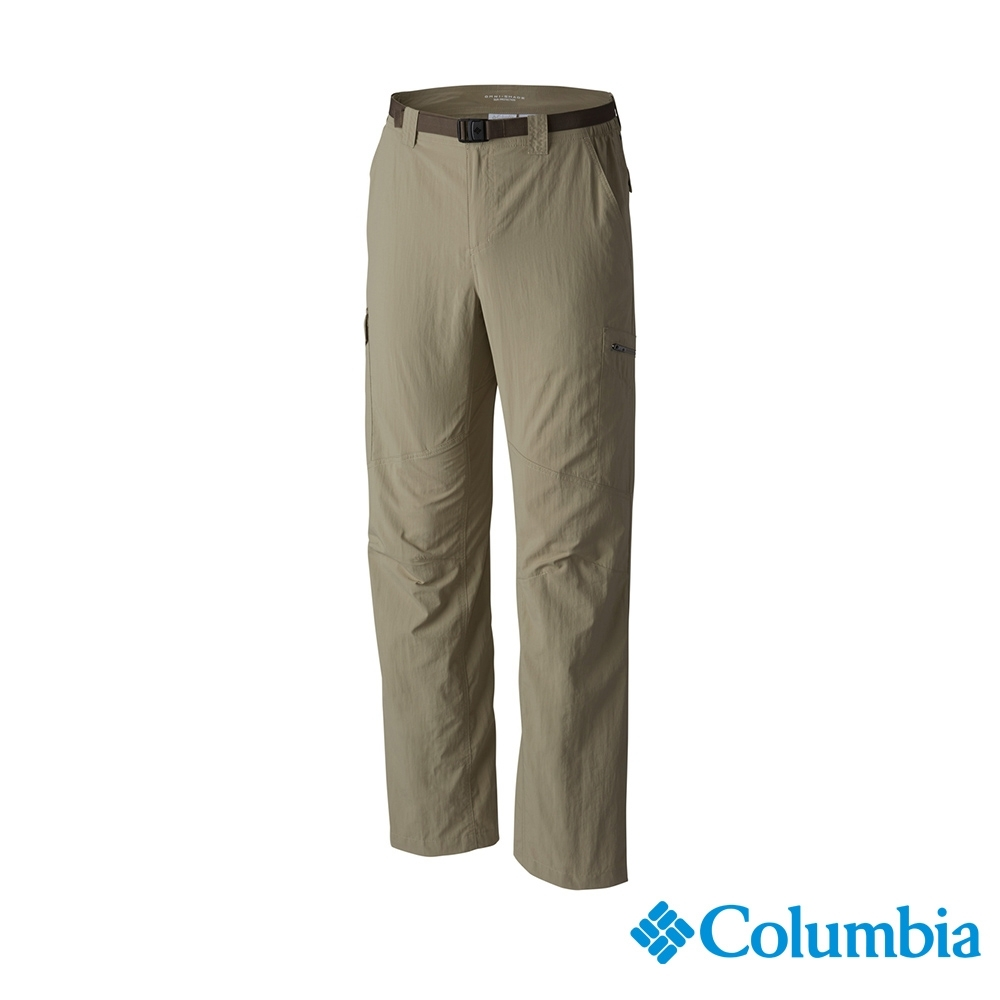 Columbia 哥倫比亞 男款- UPF50快排長褲-棕色  UAM80070BN
