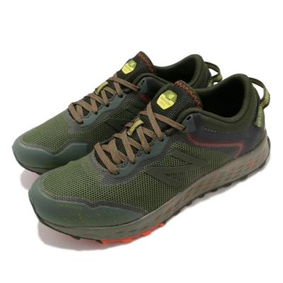 New Balance 慢跑鞋 Fresh Foam 寬楦 男鞋 紐巴倫 輕量 舒適 避震 路跑 球鞋 綠 橘 MTARISR12E
