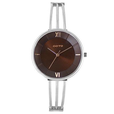GOTO Marine 海洋系列時尚手錶-咖/33mm
