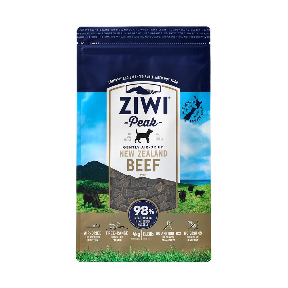 ZiwiPeak巔峰 98% 鮮肉狗糧-牛肉 4kg