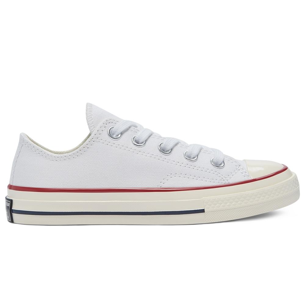CONVERSE CHUCK 70 OX 低筒休閒鞋 中大童 白 368988C