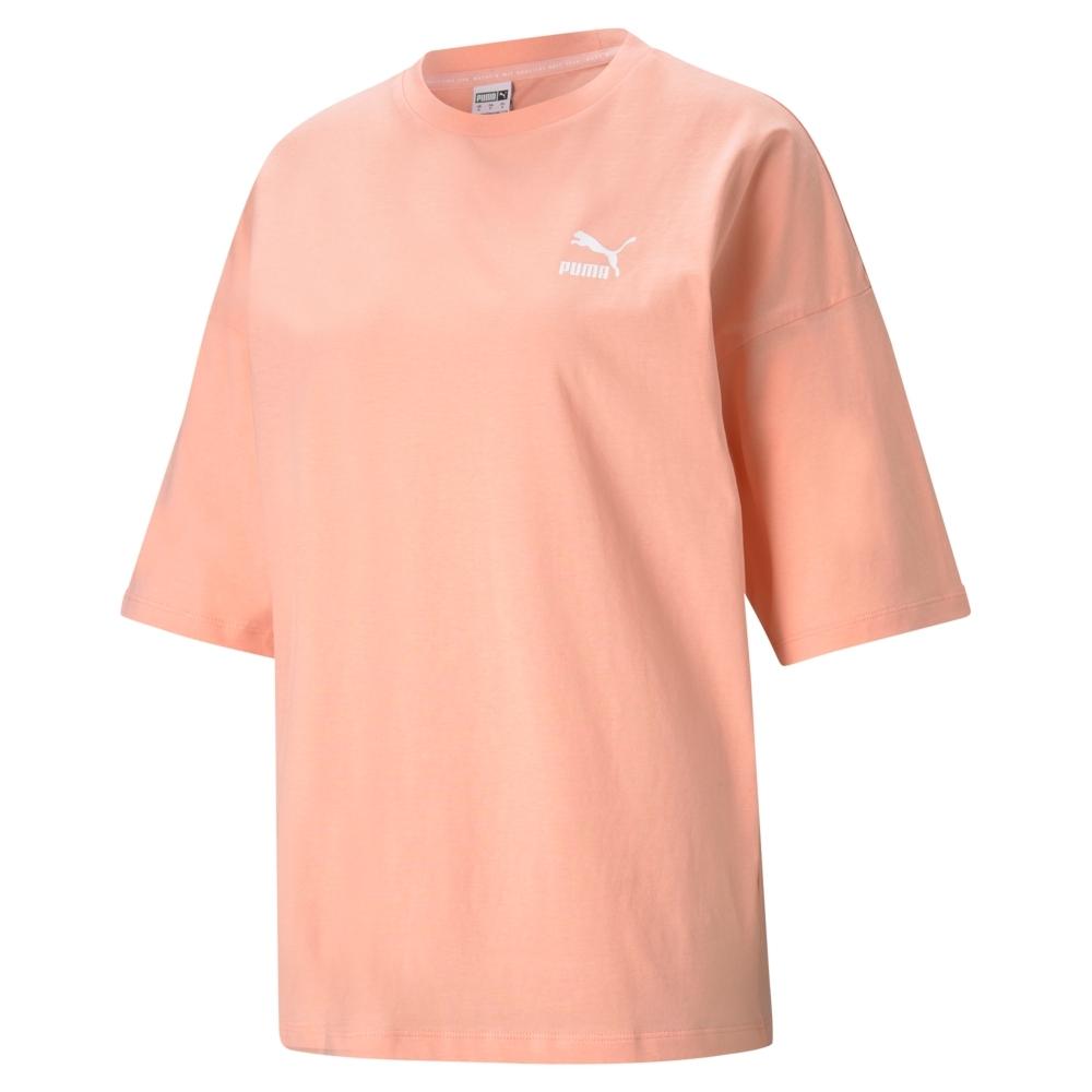 【PUMA官方旗艦】流行系列Classics寬版短袖T恤 女性 59957926