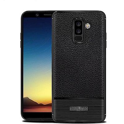 IN7 荔枝紋系列 Samsung A6 Plus 2018 硅膠TPU保護殼
