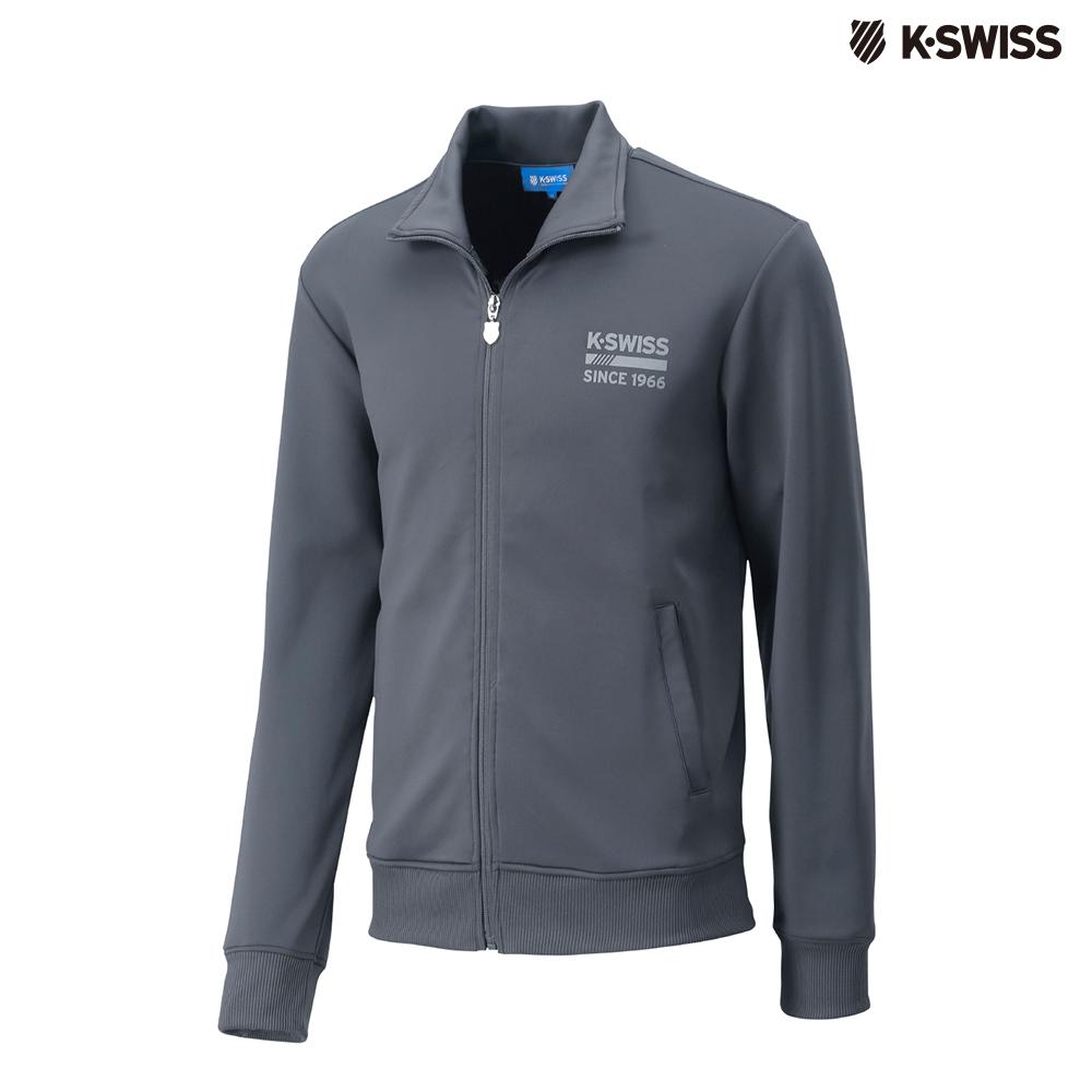 K-SWISS Retro Jacket運動外套-男-灰 @ Y!購物
