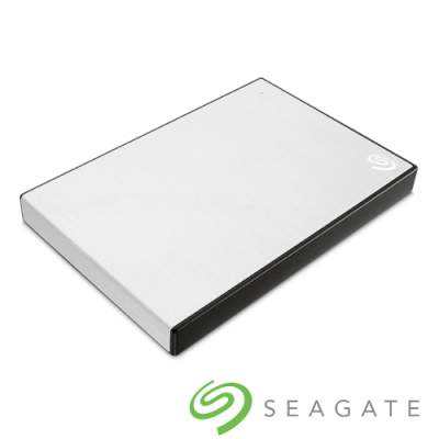 Seagate Backup Plus Slim 2TB 2.5吋 外接硬碟-星鑽銀