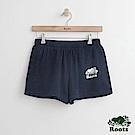 Roots -女裝- 經典海狸休閒短褲 - 藍