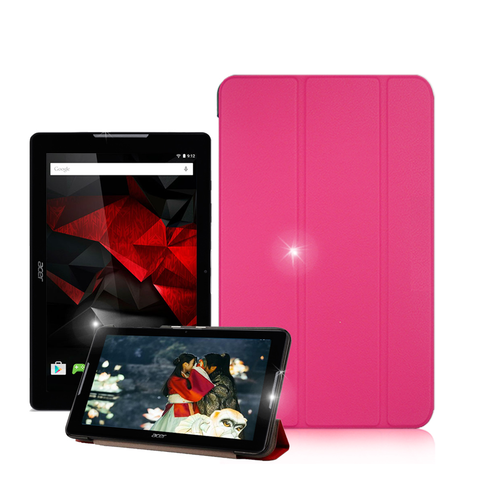 VXTRA ACER Iconia One 10 B3-A30經典皮紋平板皮套 product image 1