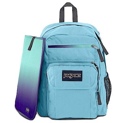 JanSport -DIGITAL STUDENT 系列後背包 -清水藍