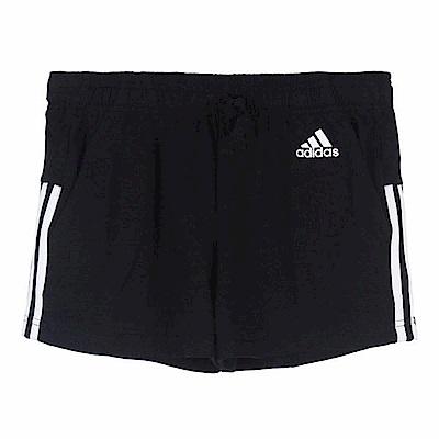 adidas 女 ESS 3S SHORT 運動短褲- BR5963