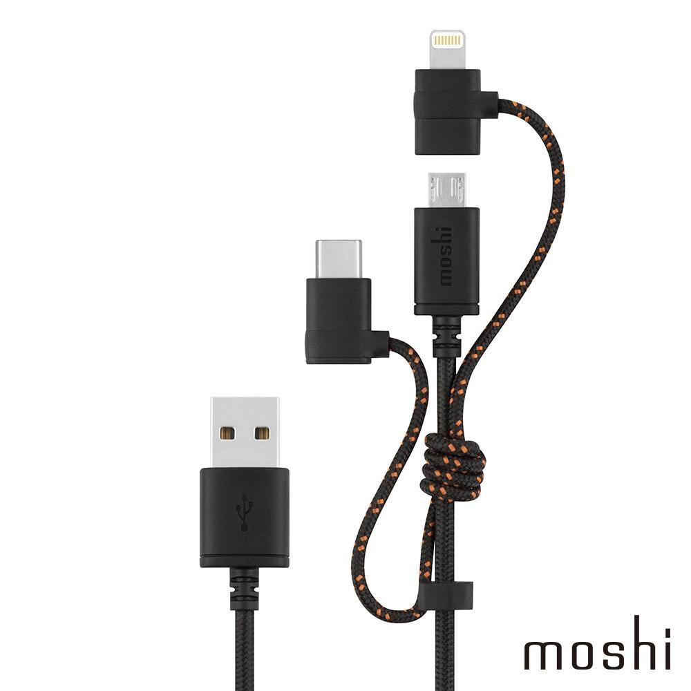 Moshi 3 合 1 萬用充電線