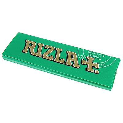 RIZLA-GREEN 法國進口捲煙紙10入
