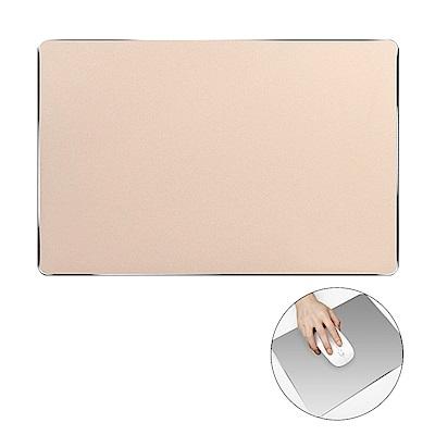 細緻磨砂鋁合金時尚金屬滑鼠墊(方形)/五色可選