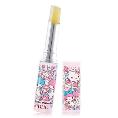 DHC 純橄欖護唇膏-Sanrio聯名 kitty 雙星仙子 美樂蒂 限量款1.5g-粉紅