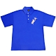 UDOU Paul Falling horse短袖POLO衫(藍) product thumbnail 1